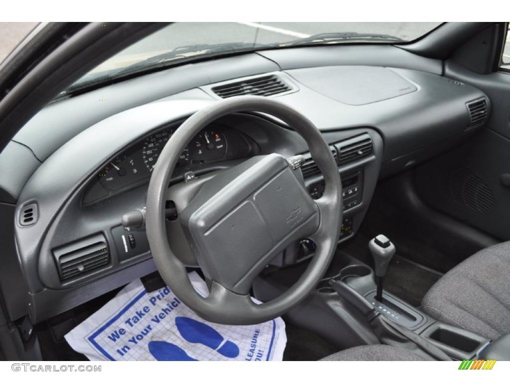 Graphite Interior 2000 Chevrolet Cavalier Sedan Photo ...
