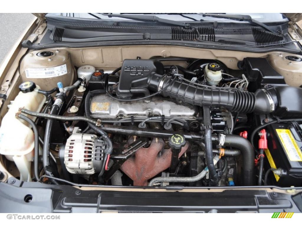 2000 Chevrolet Cavalier Sedan Engine Photos | GTCarLot.com