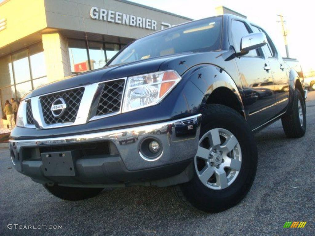 2006 majestic blue nissan frontier nismo crew cab 4x4. Black Bedroom Furniture Sets. Home Design Ideas