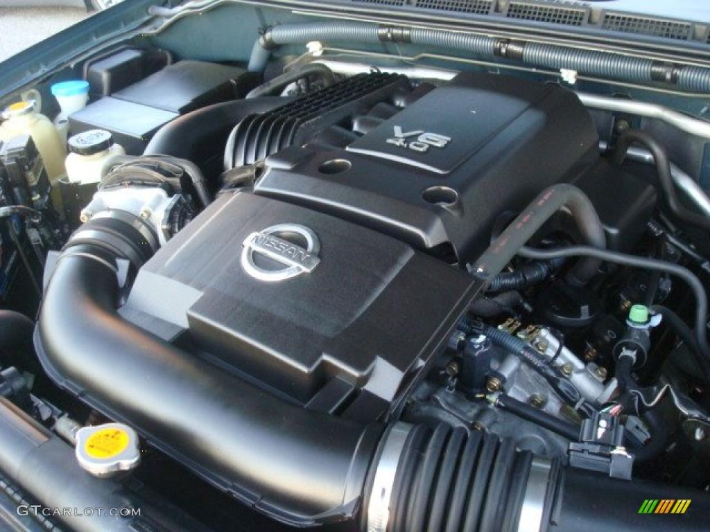 2006 Nissan Frontier Nismo Crew Cab 4x4 Engine Photos