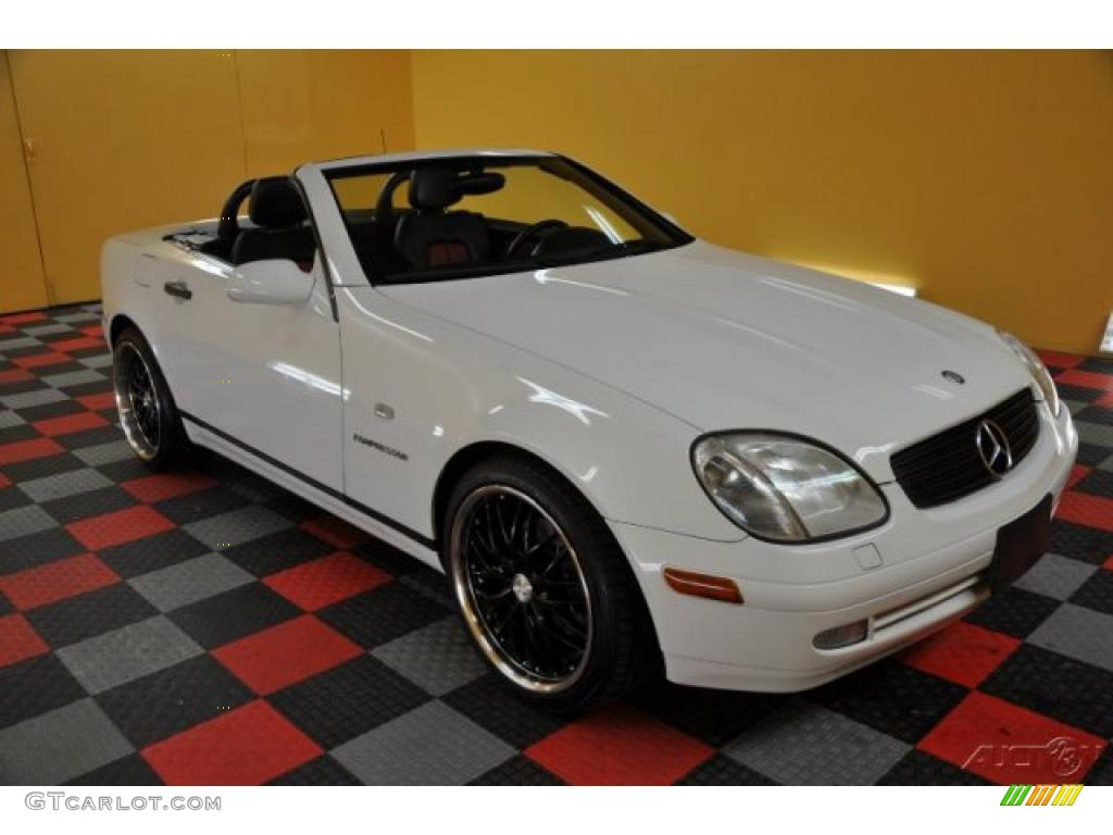 2000 glacier white mercedes benz slk 230 kompressor for Mercedes benz slk230 kompressor