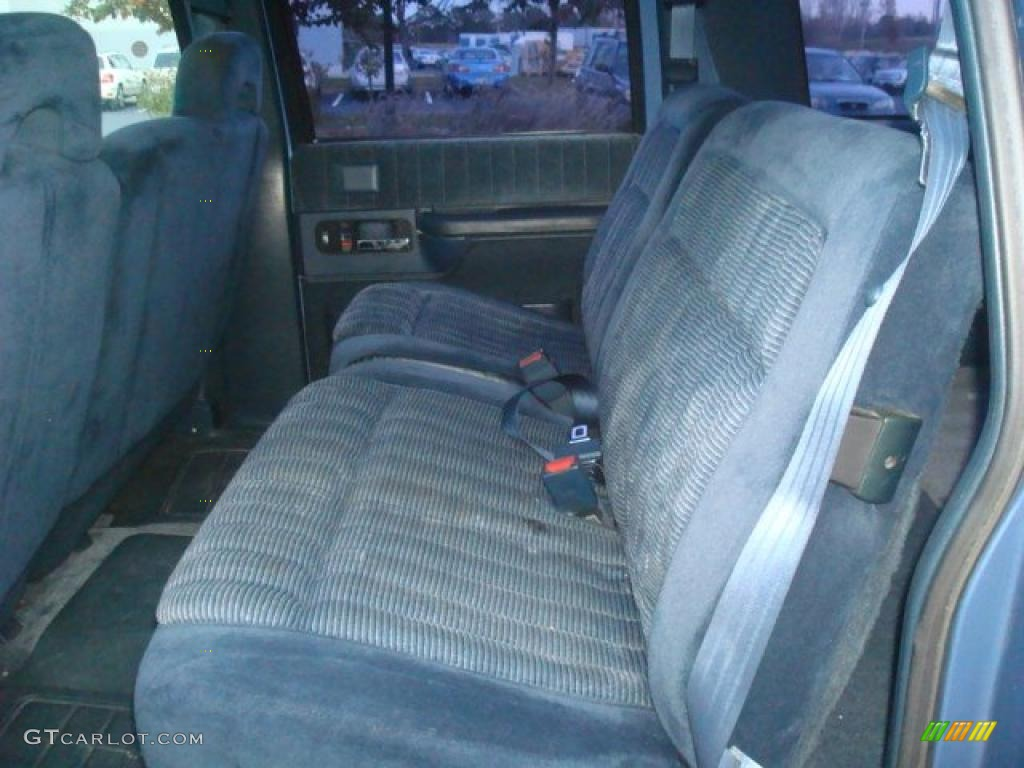 2007 Chevy Silverado 4x4 Denim Blue Interior 1994 Chevrolet Suburban K1500 4x4 ...