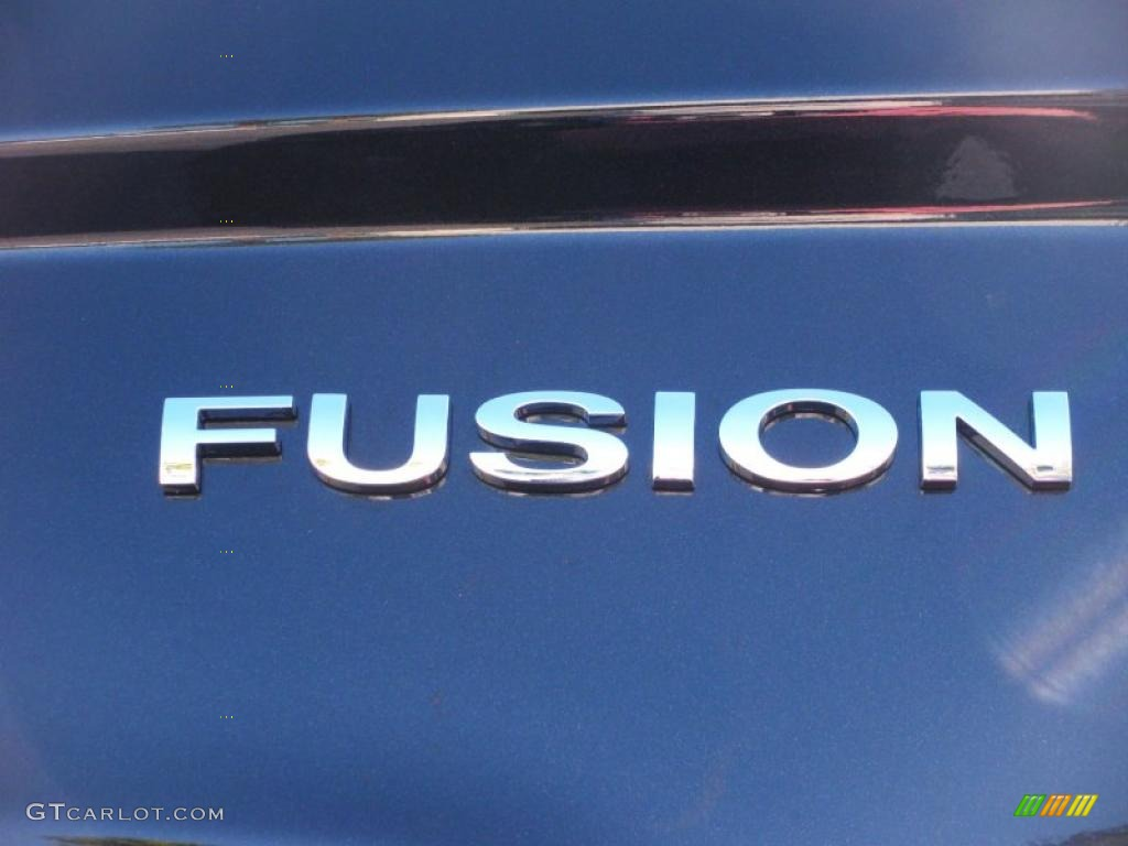 2011 Fusion Sport - Tuxedo Black Metallic / Sport Blue/Charcoal Black photo #4