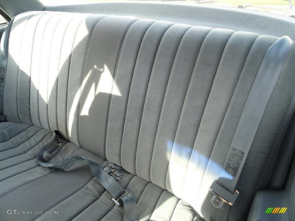 gray interior 1989 chevrolet corsica sedan photo 41291153. Black Bedroom Furniture Sets. Home Design Ideas