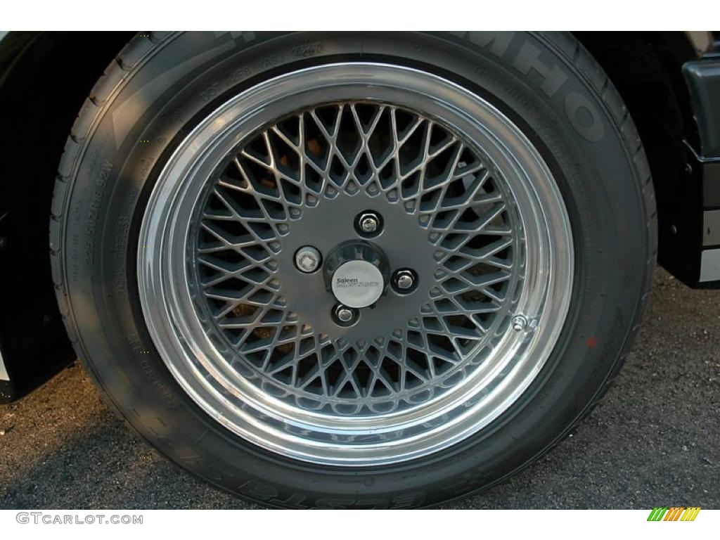 1985 Ford Mustang Saleen Fastback Wheel Photo  41292277