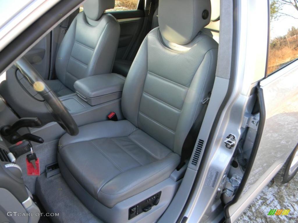 Stone Steel Grey Interior 2004 Porsche Cayenne Turbo Photo 41292702