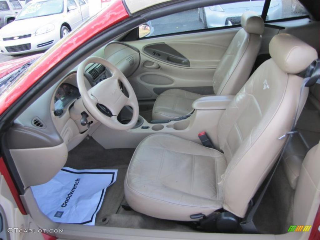 2001 Ford Mustang V6 Convertible Interior Photo 41303560