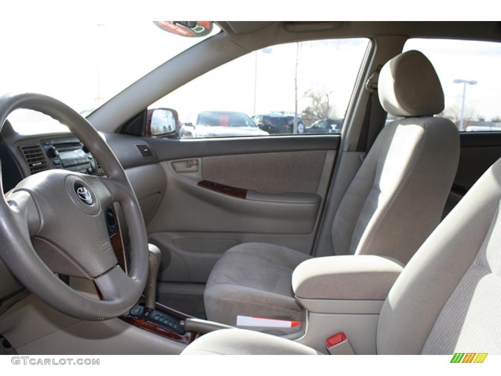 2008 Toyota Corolla Le Interior Photo 41310355