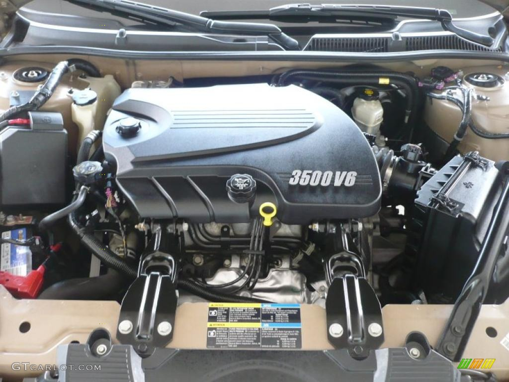 2006 Chevrolet Impala Lt 3 5 Liter Ohv 12 Valve Vvt V6 Engine Photo 41312506