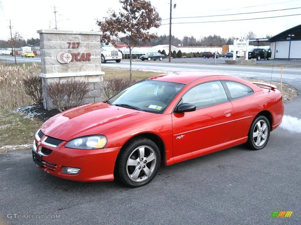 2004 dodge stratus red