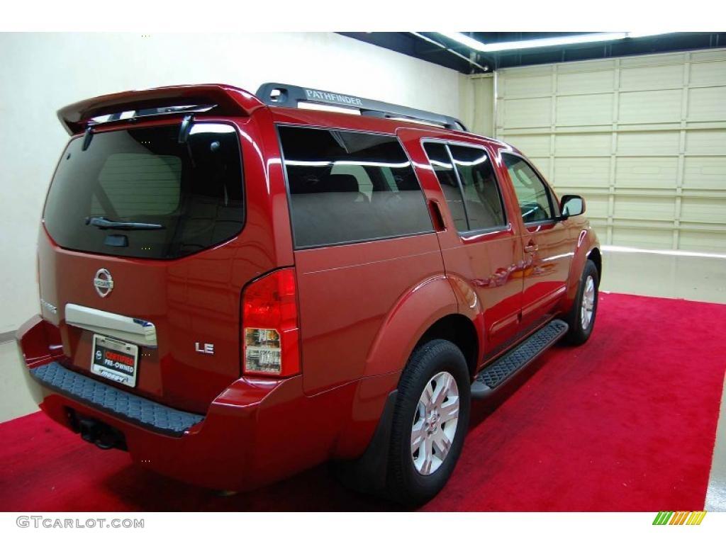 2006 red brawn pearl nissan pathfinder le 41300653 photo 6 car color galleries. Black Bedroom Furniture Sets. Home Design Ideas