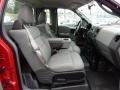 2005 F150 STX Regular Cab 4x4 Medium Flint Grey Interior