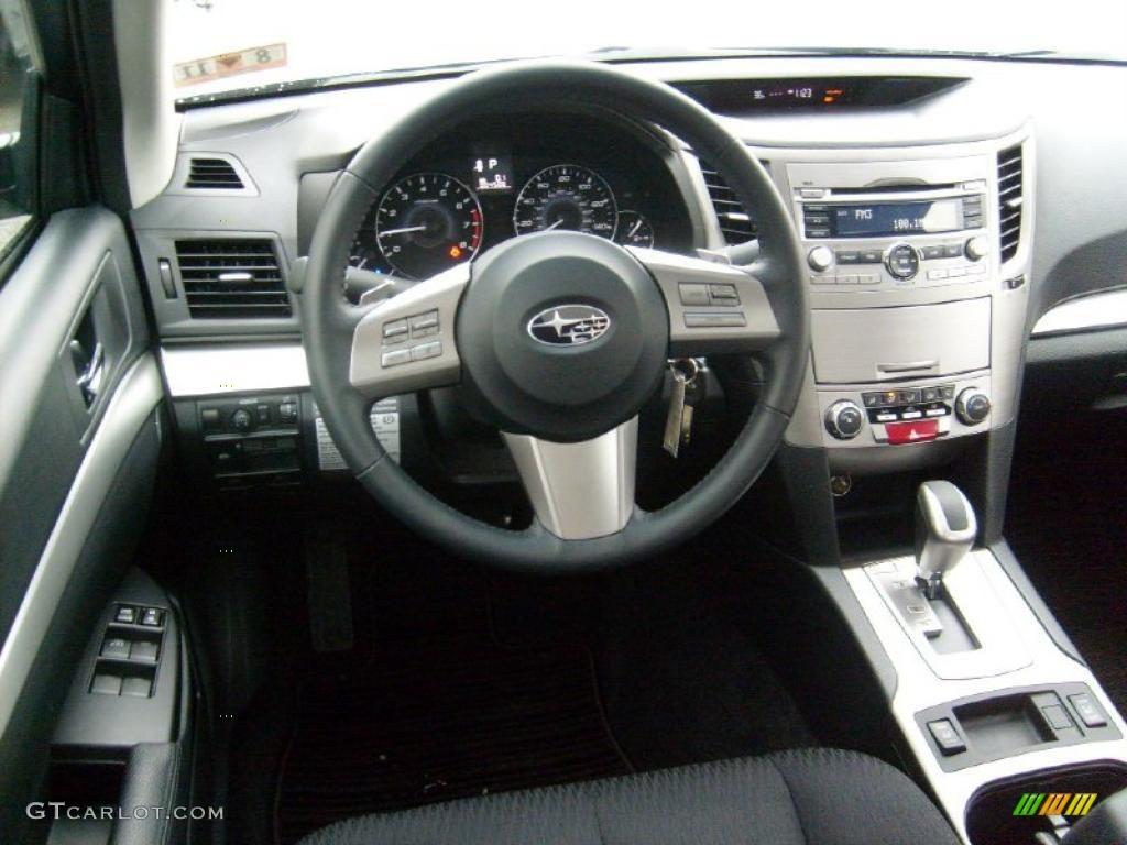 2011 Subaru Legacy 2.5i Premium Off-Black Dashboard Photo ...