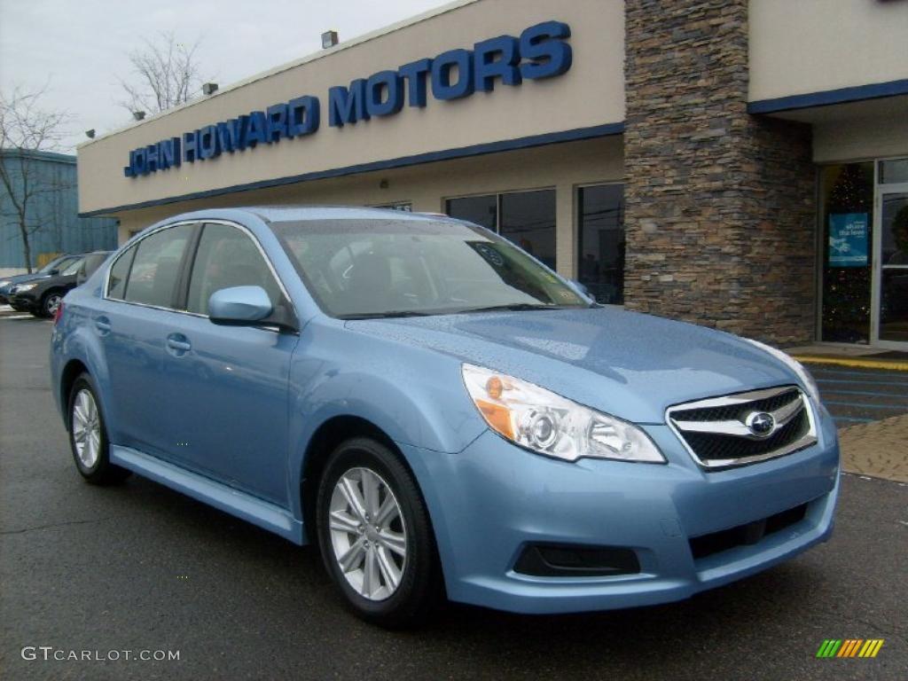 2010 legacy 2 5i premium sedan sky blue metallic off black photo 1