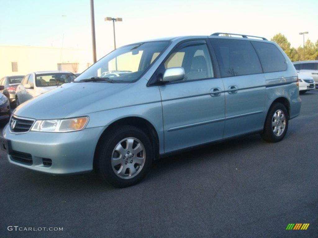 Havasu Blue Metallic 2003 Honda Odyssey Ex Exterior Photo
