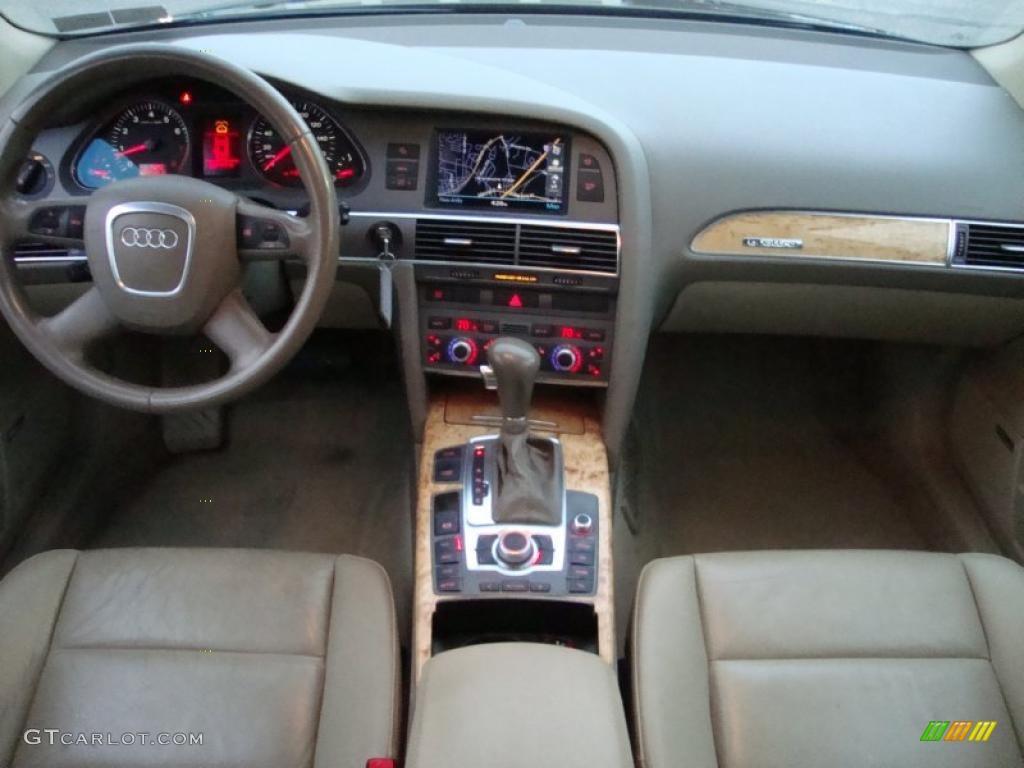 2005 audi a6 3 2 quattro sedan beige dashboard photo 41322954. Black Bedroom Furniture Sets. Home Design Ideas