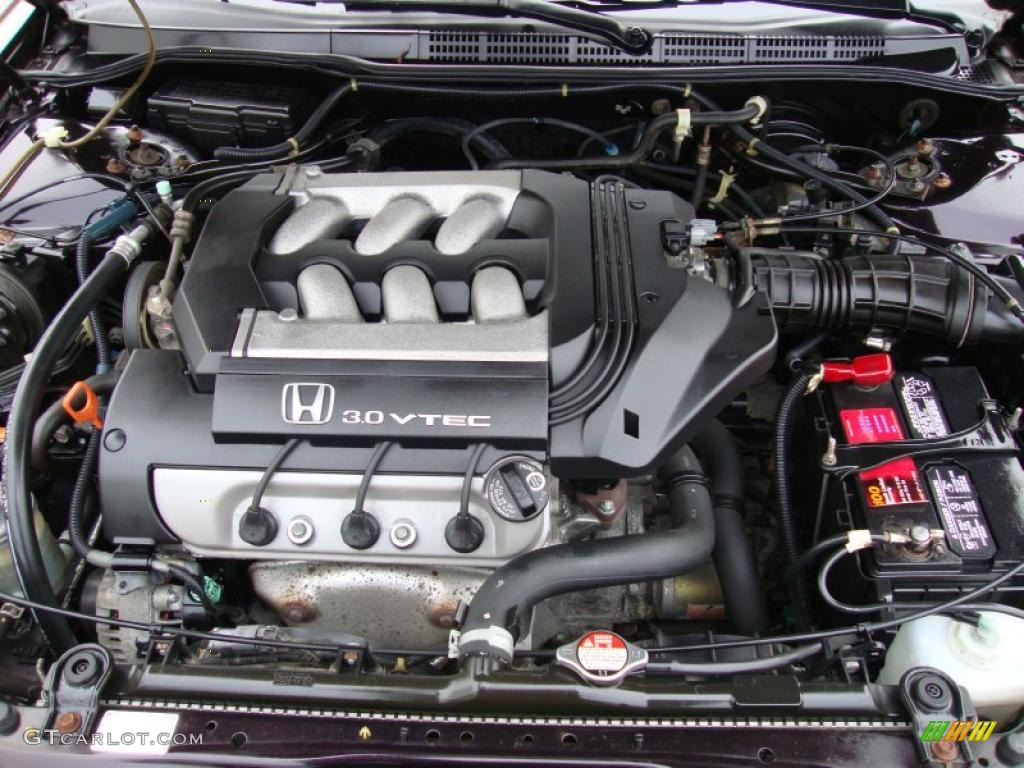 1999 Honda Accord Ex V6 Coupe 3 0l Sohc 24v Vtec V6 Engine