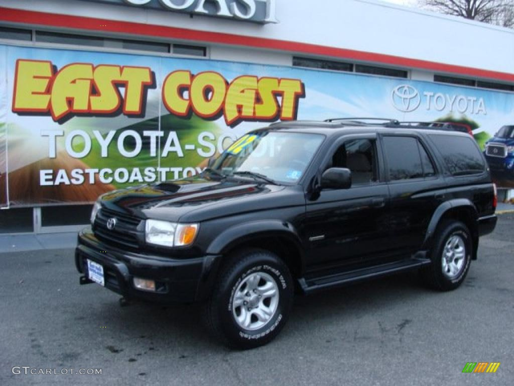 2002 black toyota 4runner sport edition 4x4 41300703 photo 3 car color galleries. Black Bedroom Furniture Sets. Home Design Ideas