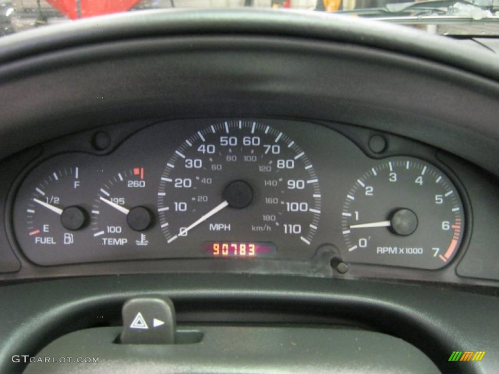 2000 Chevrolet Cavalier Z24 Convertible Gauges Photo 41342287