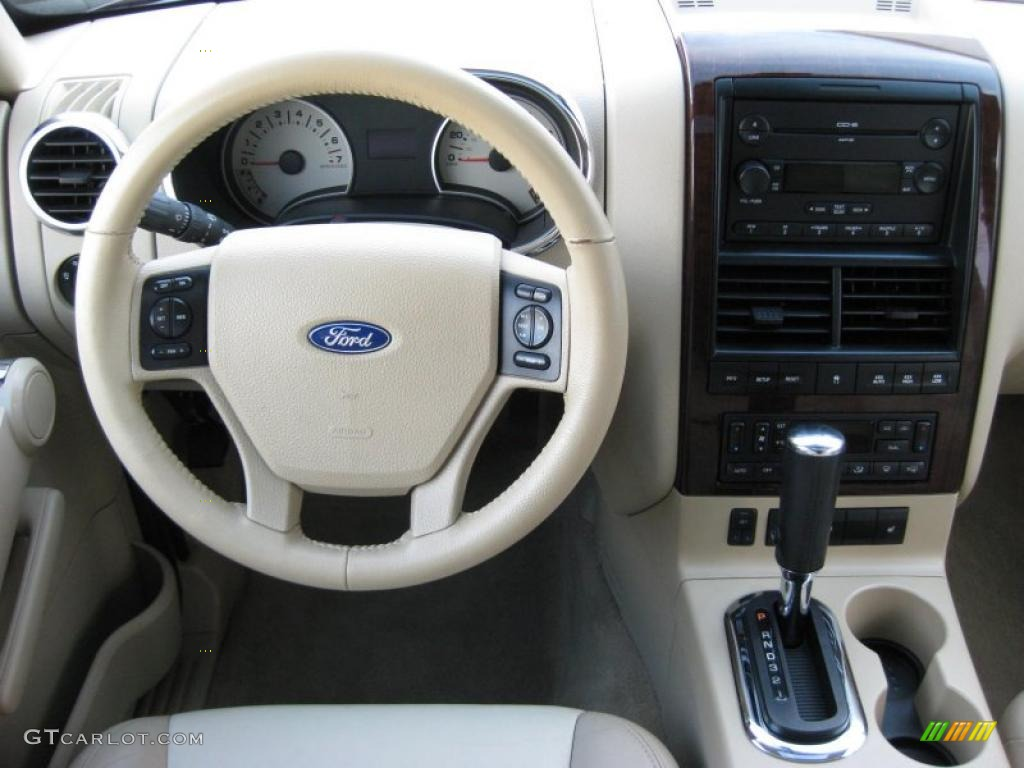 2006 Ford Explorer Limited 4x4 Camel Dashboard Photo