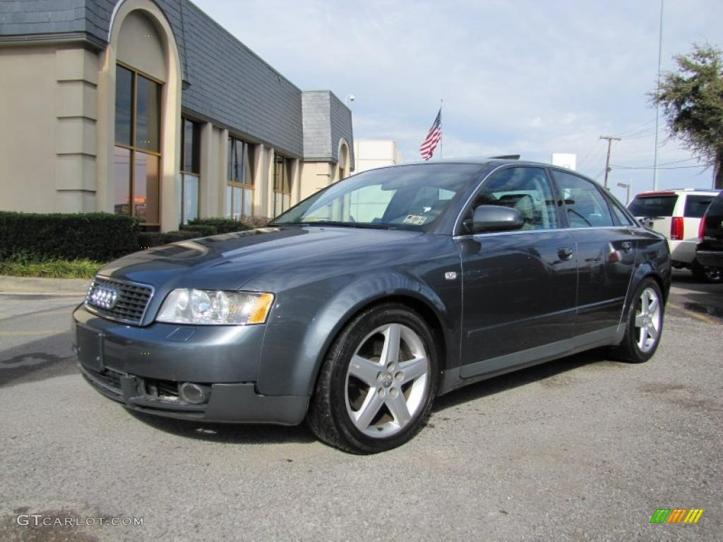 dolphin grey pearl effect 2002 audi a4 3 0 quattro sedan. Black Bedroom Furniture Sets. Home Design Ideas