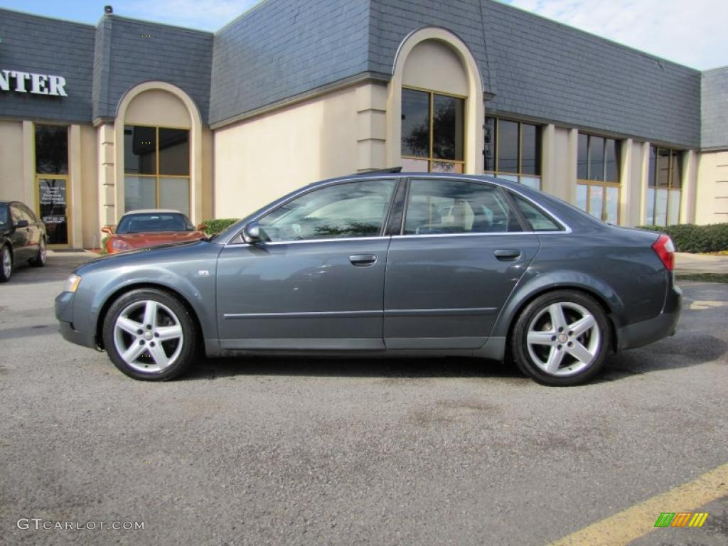Dolphin Grey Pearl Effect 2002 Audi A4 3 0 Quattro Sedan