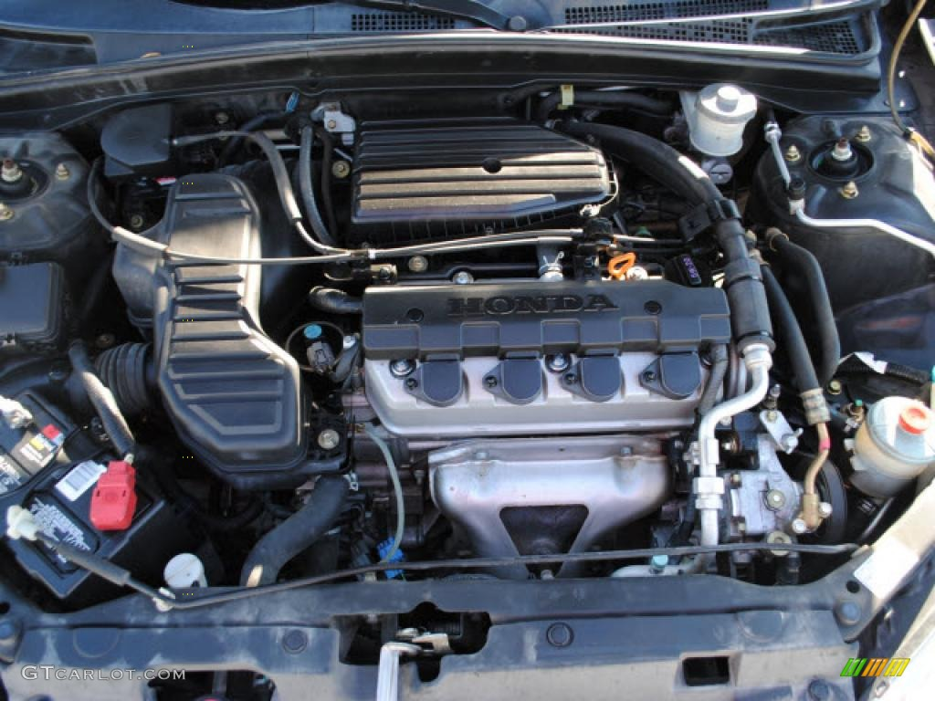 2002 Honda Civic Transmission 2004 Honda Civic LX Sedan 1.7L SOHC 16V VTEC 4 Cylinder Engine Photo ...