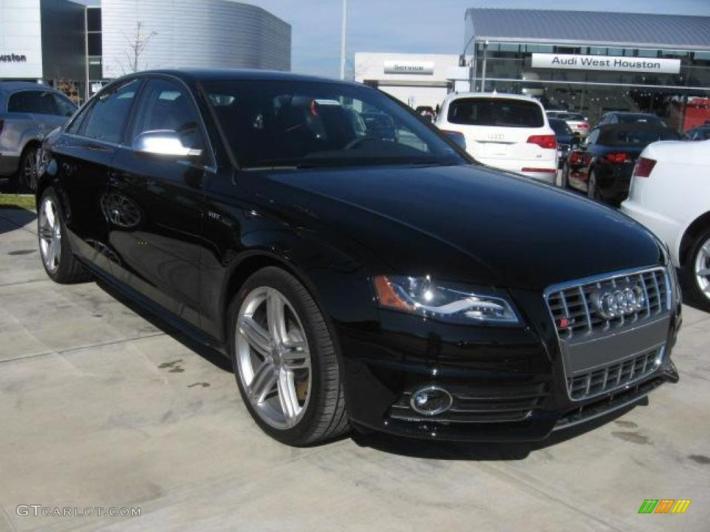 2011 brilliant black audi s4 3 0 quattro sedan 41300817. Black Bedroom Furniture Sets. Home Design Ideas
