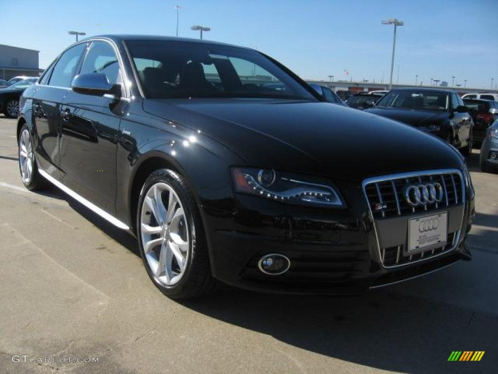 2011 phantom black pearl effect audi s4 3 0 quattro sedan. Black Bedroom Furniture Sets. Home Design Ideas