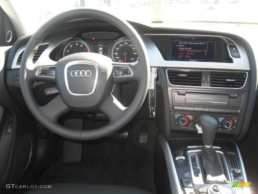 2011 Audi A4 2.0T Sedan Black Dashboard Photo #41369151 ...