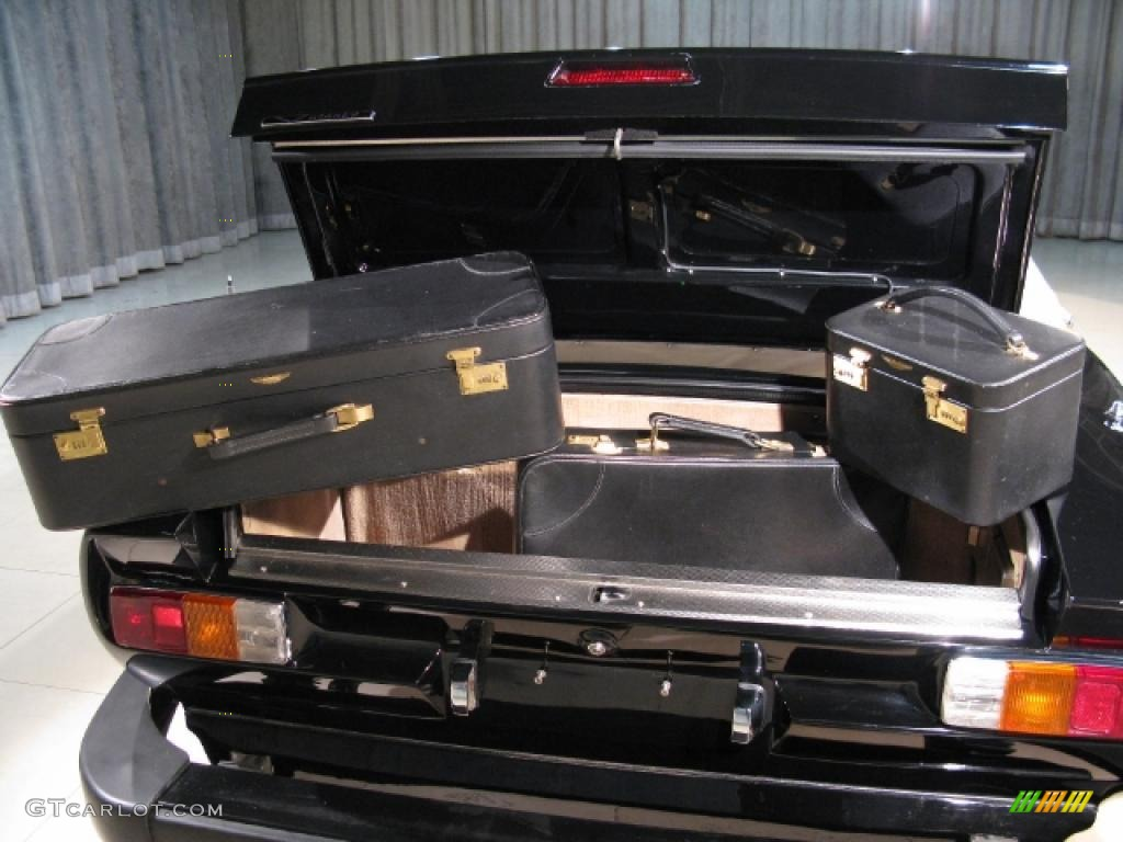 1988 Aston Martin V8 Vantage Volante Luggage Photo