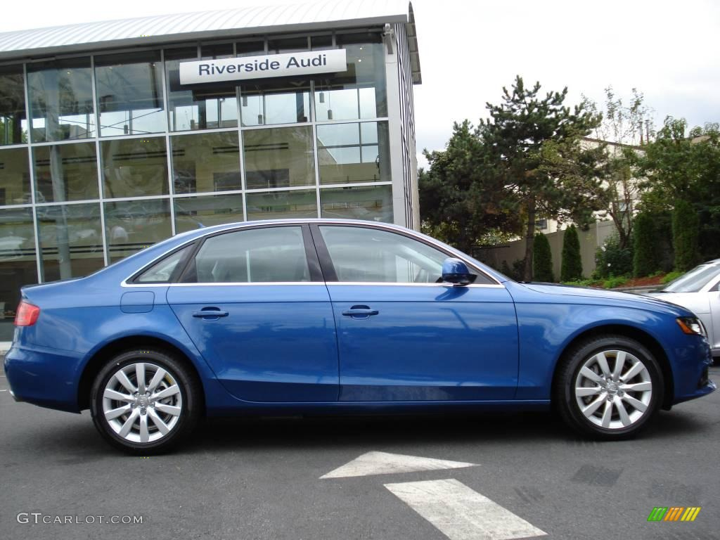 Audi a4 2009 Blue 2009 Audi a4 3 2 Quattro Sedan