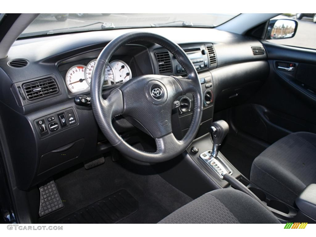 Dark charcoal interior 2007 toyota corolla s photo 41378360 for Toyota corolla 2003 interior