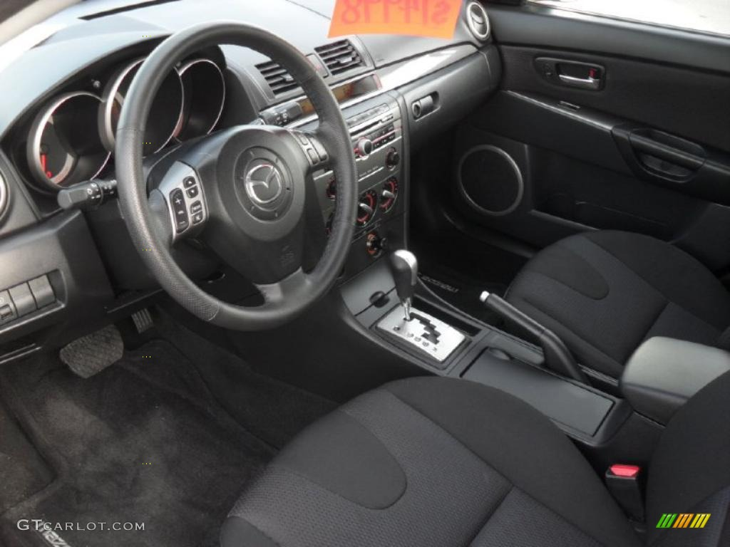 Black Interior 2008 Mazda MAZDA3 S Touring Hatchback Photo #41378944 Nice Ideas