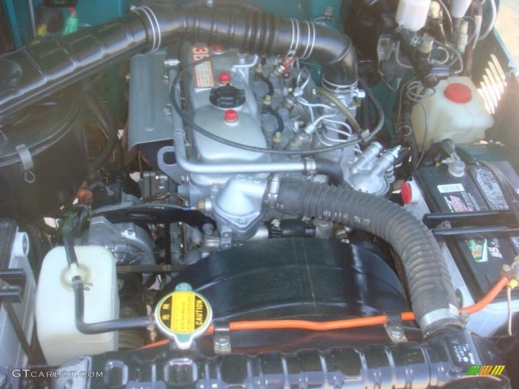 1981 Toyota Land Cruiser Fj40 Engine Photos