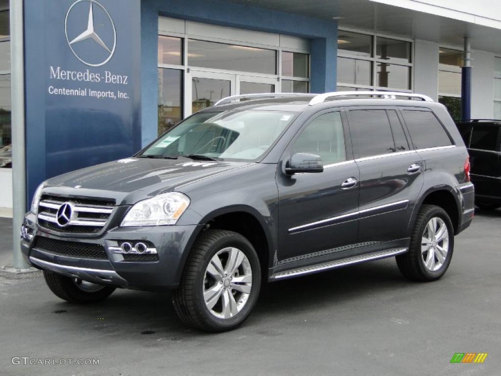 2011 Steel Grey Metallic Mercedes Benz Gl 450 4matic
