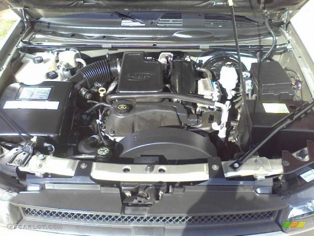 2002 Chevrolet Trailblazer Ext Lt 4x4 4 2 Liter Dohc 24