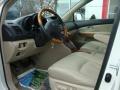 Ivory 2008 Lexus RX 400h Hybrid Interior Color