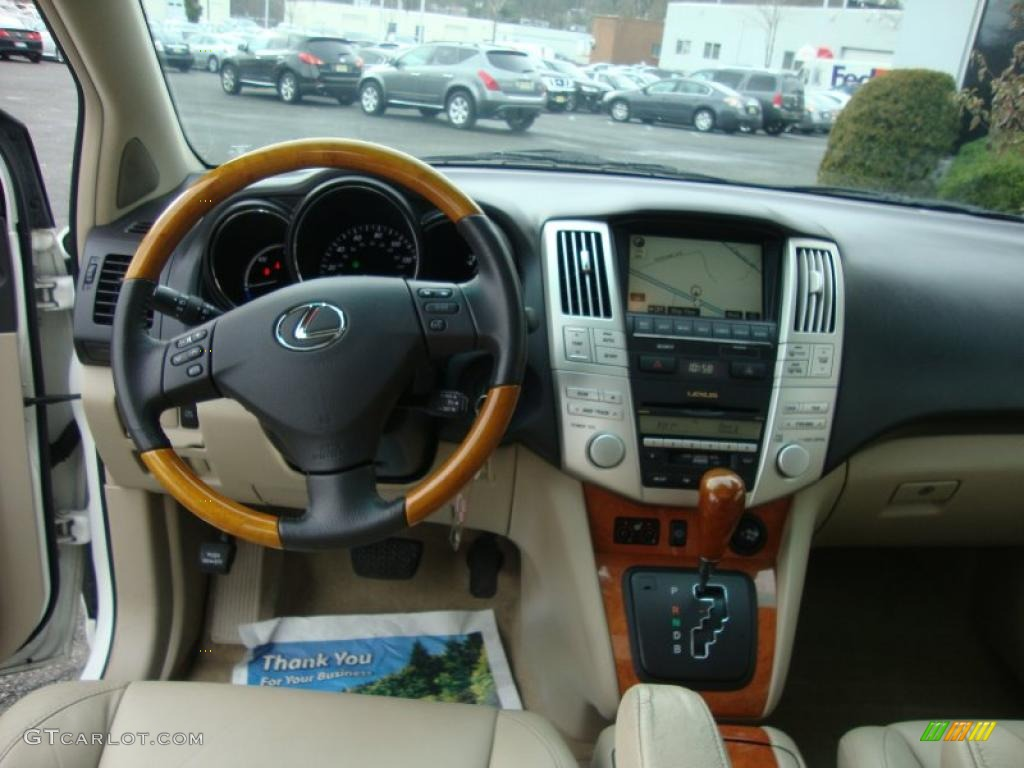 2008 Lexus Rx 400h Hybrid Ivory Dashboard Photo 41424463