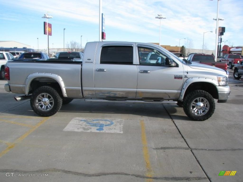 Bright Silver Metallic 2007 Dodge Ram 2500 Slt Mega Cab 4x4 Exterior Photo 41425103 Gtcarlot Com
