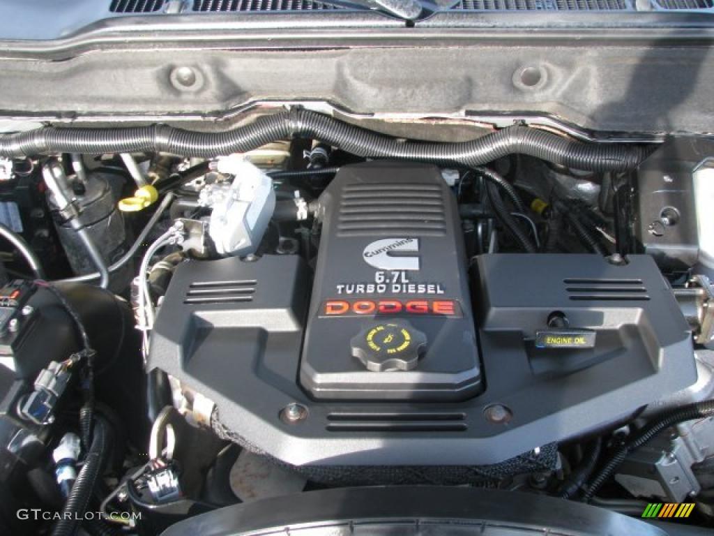 2007 Dodge Ram 2500 Slt Mega Cab 4x4 6 7l Cummins Turbo Diesel Ohv 24v Inline 6 Cylinder Engine