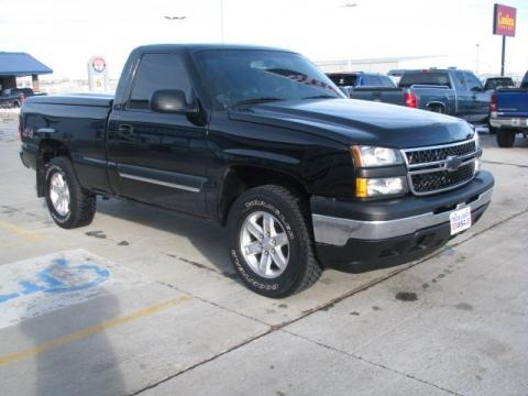 2006 Chevrolet Silverado 1500 LS Regular Cab 4x4 Data, Info and Specs