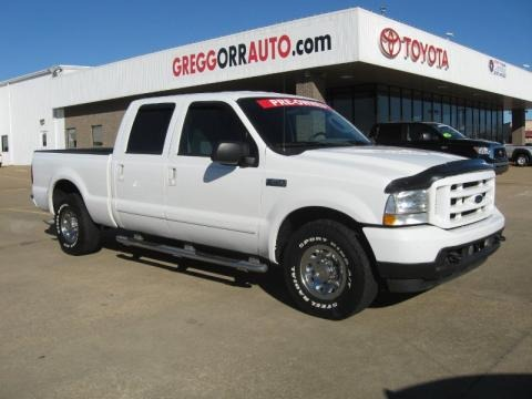2003 Ford F250 Super Duty XLT Crew Cab Data, Info and Specs