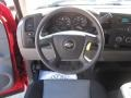 Dark Titanium Steering Wheel Photo for 2008 Chevrolet Silverado 1500 #41429815