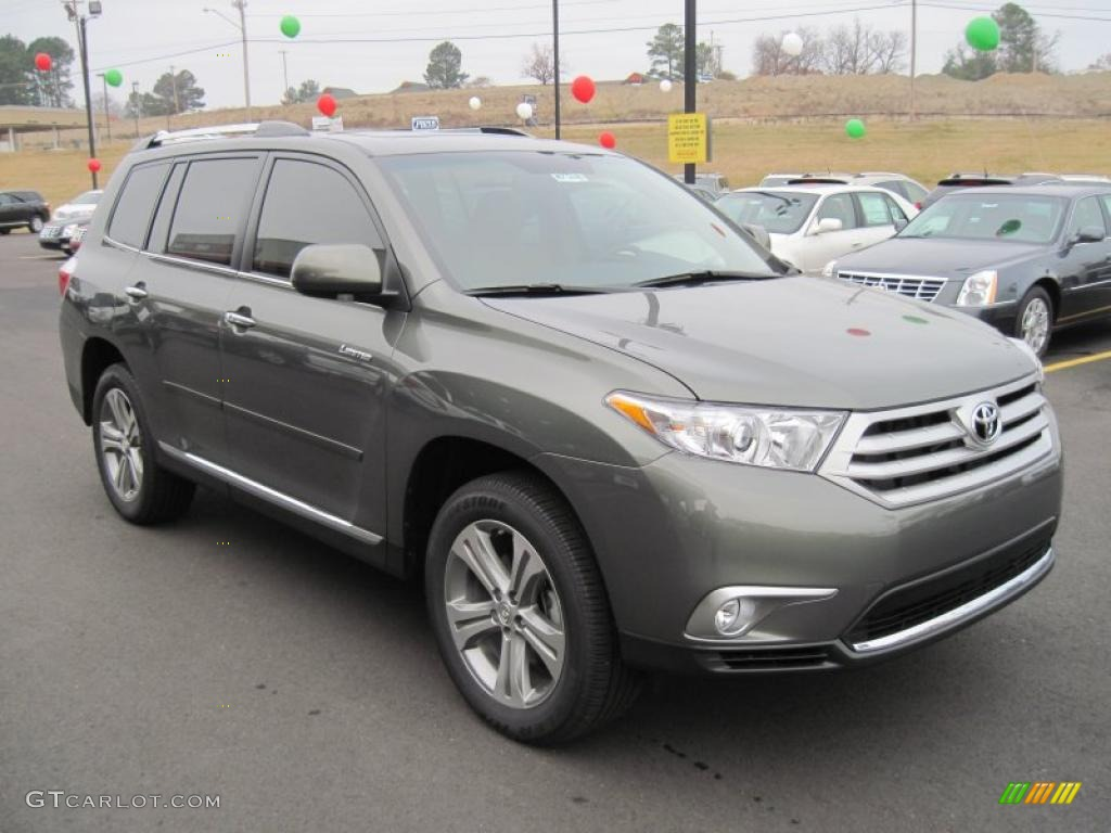 Cypress Green Pearl 2011 Toyota Highlander Limited Exterior Photo 41430631