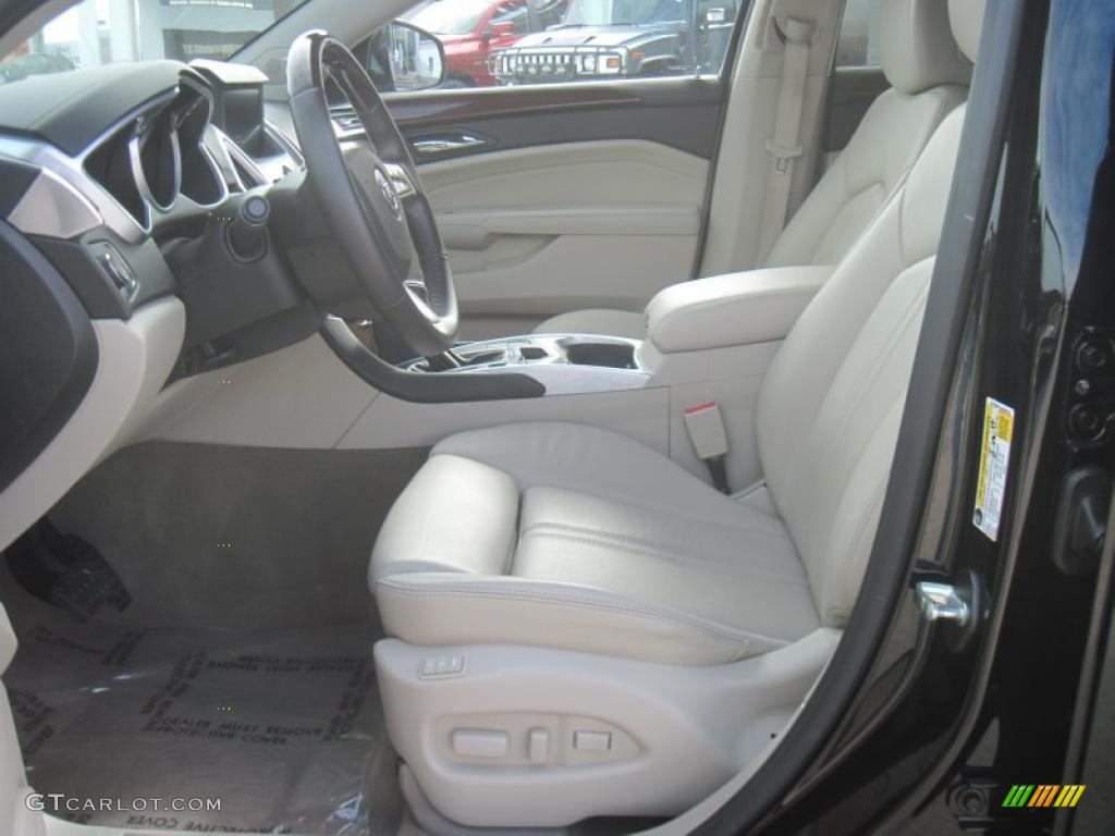 Shale Ebony Interior 2010 Cadillac Srx V6 Photo 41434523