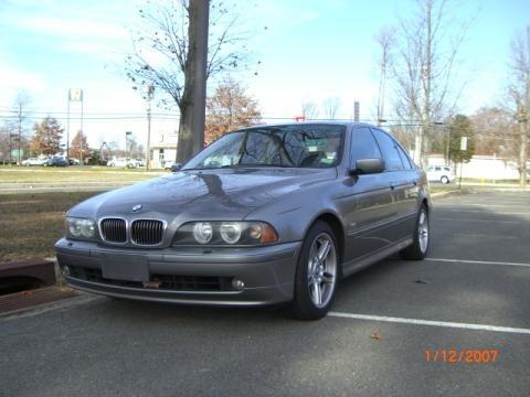Sterling Grey Metallic BMW 5 Series in 2002. Sterling Grey Metallic