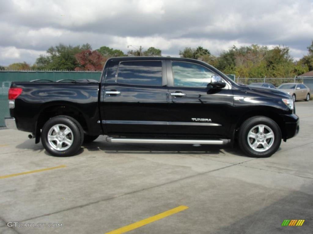 Black 2007 Toyota Tundra Limited Crewmax 4x4 Exterior