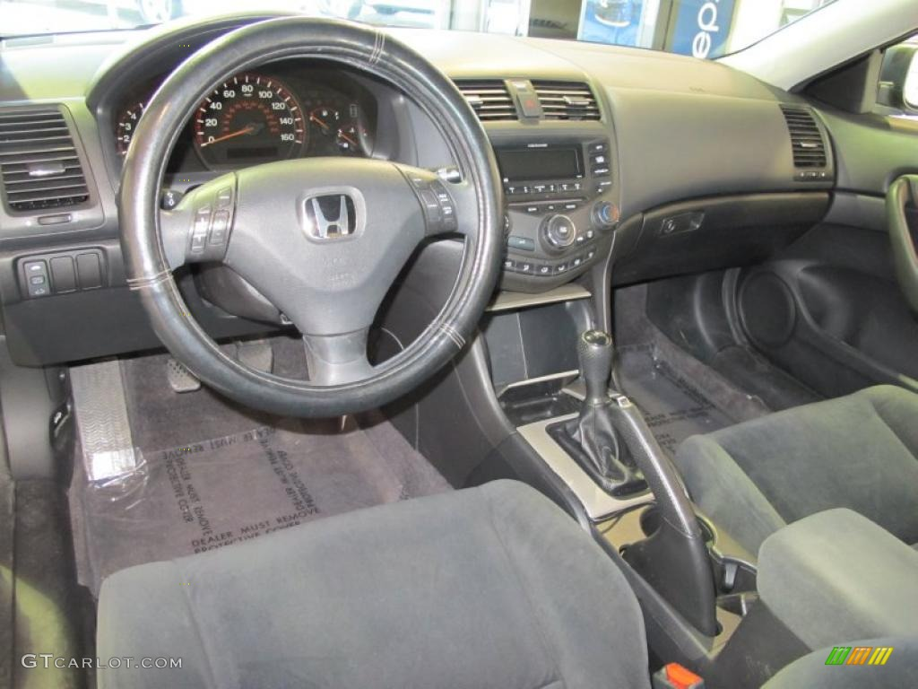 black interior 2005 honda accord ex coupe photo 41464626. Black Bedroom Furniture Sets. Home Design Ideas