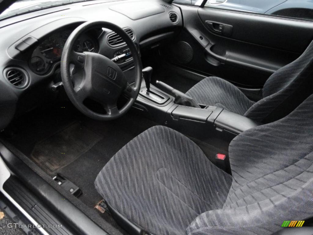 Black Interior 1997 Honda Del Sol S Photo 41464638
